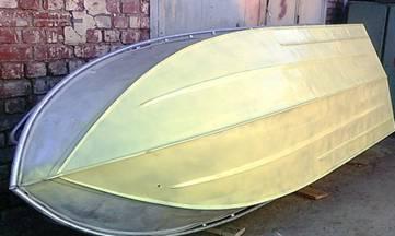 покраска лодки грунт