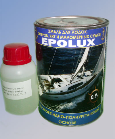 краской покрасить алюминиевую лодку